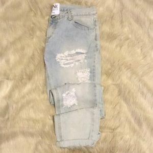Oneteaspoon distressed ripped baggies jeans 29